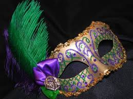 green mardi gras mask purple green and gold feather mardi gras mask gold feathers