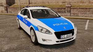 peugeot 508 2003 peugeot 508 polish police els for gta 4