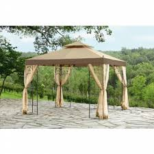 Sun Garden Easy Sun Parasol Replacement Canopy by Essential Garden Winslow Gazebo Replacement Canopy Home Outdoor