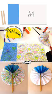 how to make a paper fan krokotak diy paper hand fan