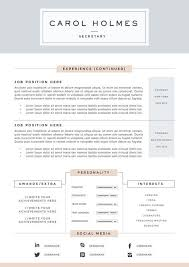 Covering Letter For Resume Samples by Best 25 Resume Templates For Word Ideas On Pinterest Curriculum