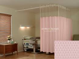 Universal Curtain Track On The Right Track Textile Cubicle Curtains