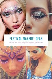 halloween hippie makeup looks 352 best rave makeup images on pinterest make up festival