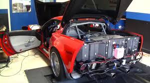 turbo corvette turbo corvette z06 lays 1 453 horsepower on the dyno