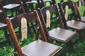 reserved signs for wedding tables make your own wedding ceremony chair reserved signs