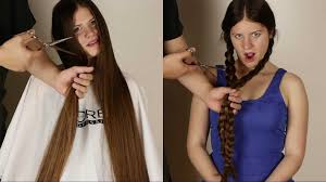 in long hair hair2u suzana 4 scissor play youtube