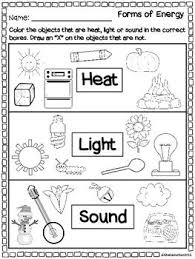 is light a form of energy form of energy worksheet worksheets for all download and share