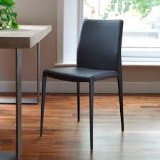Contemporary Black Dining Chairs Chair Design Ideas Best Modern Black Dining Chairs Modern Black