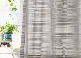 Crate Barrel Curtains Bathroom Crate And Barrel Shower Curtains For The Perfect Engaging