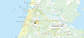 where is amsterdam on a map amsterdam i amsterdam