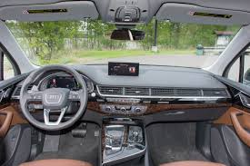 audi dashboard 2017 2017 audi q7 2 0t review u2013 two point dough the truth about cars