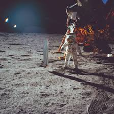 American Flag On The Moon Walking On The Moon U2013 Texas Monthly