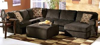 ashley furniture chair and ottoman ashley furniture extended warranty vista chocolate sectional with