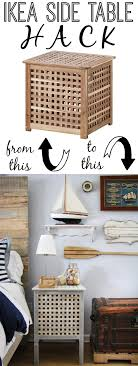 Ikea Side Table Hack Ikea Side Table Hack Such Great Heights The Thinking Closet
