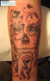 forearm skull tattoos day of the dead woman forearm image tattooing tattoo designs