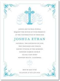 confirmation invitation sophisticated modern confirmation invitation with photo