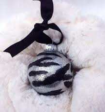 zebra ceramic ornament ornament