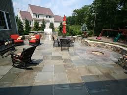 Backyard Foam Pit Green Exterior Concrete U2013 8 Eco Friendly Outdoor Concrete Ideas
