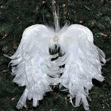 diy angelic organdy ribbon angel wings angel wings angel and craft