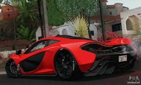 mclaren p1 custom paint job mclaren p1 hq for gta san andreas