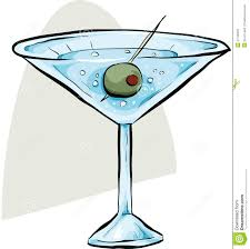 martini illustration martini with olive stock illustration image of isolated 41748431