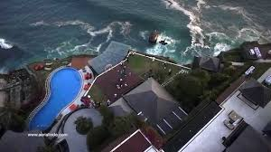aerial indonesia a wedding at the edge uluwatu bali youtube