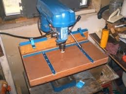 Diy Drill Press Table by Homemade Drill Press Table Homemadetools Net