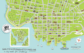 Rosemary Beach Map Look At Our New Charlottetown Walking Map By Lori Joy Smith Look