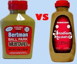 stadium mustard all things cleveland ohio cleveland s great mustard debate