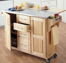 oak kitchen island cart rolling kitchen island cart ipbworks
