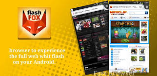 android flash browser flashfox pro flash browser 44 0 apk apkmos