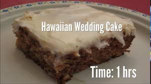 hawaiian wedding cake recipe youtube