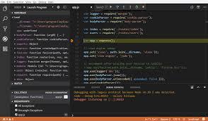 node js build node js apps with vs code