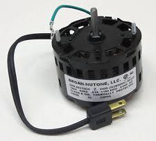 nutone model 9965 fan motor nutone exhaust fan motor ebay