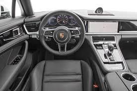 porsche hatchback interior 2017 porsche panamera first test review the ultimate four door