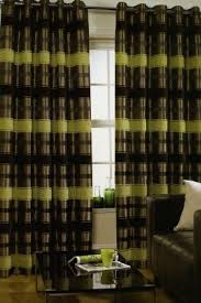 Green And Brown Curtains Chester Eyelet Lime Curtains Harry Corry Limited