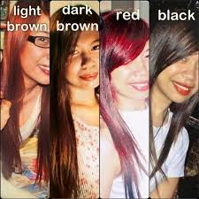 filipina artist with copper brown hair color best hair color for filipino skin
