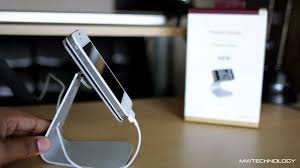 best iphone android aluminium desk stand review youtube