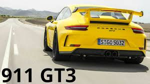 yellow porsche 911 2018 yellow porsche 911 gt3 90 200 km h acceleration and 500 hp