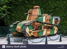 renault f1 tank world war 1 french renault tank with camouflage paint was