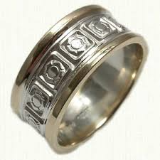 Firefighter Wedding Rings by Public Safety Jewelry Silver Gold Platinum Raru
