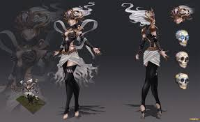 League Legends Halloween Costume Concept Syndra Skin