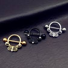 nipple rings jewelry images Stainless steel sexy nipple rings jewelry trendy vintage gold lace jpg
