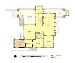 Frank Lloyd Wright House Plans by File Hills Decaro House First Floor Plan Pre Fire Jpg Wikimedia