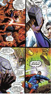 why superman will never ever be able to lift thor s hammer thor