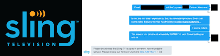 Sling Tv Sling Tv Tells Dissatisfied Customers To Pound Sand When It Comes
