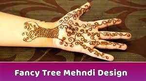 fancy tree mehndi design mehndi designs for heena