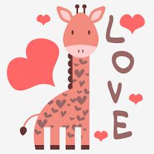 cute pink giraffe clipart clipartxtras