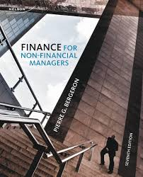finance for non financial managers 7th edition pierre bergeron