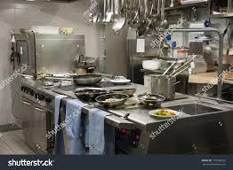 modern kitchen restaurant modern kitchen hotel restaurant stock photo 110936552 shutterstock